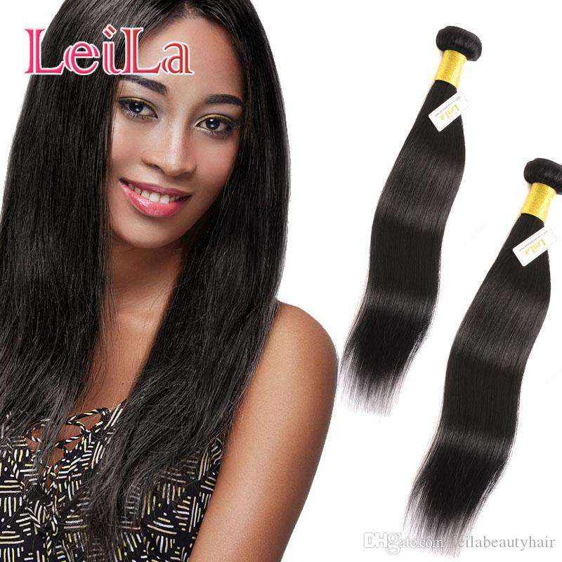 Peruvian Straight Human Hair Leila Natural