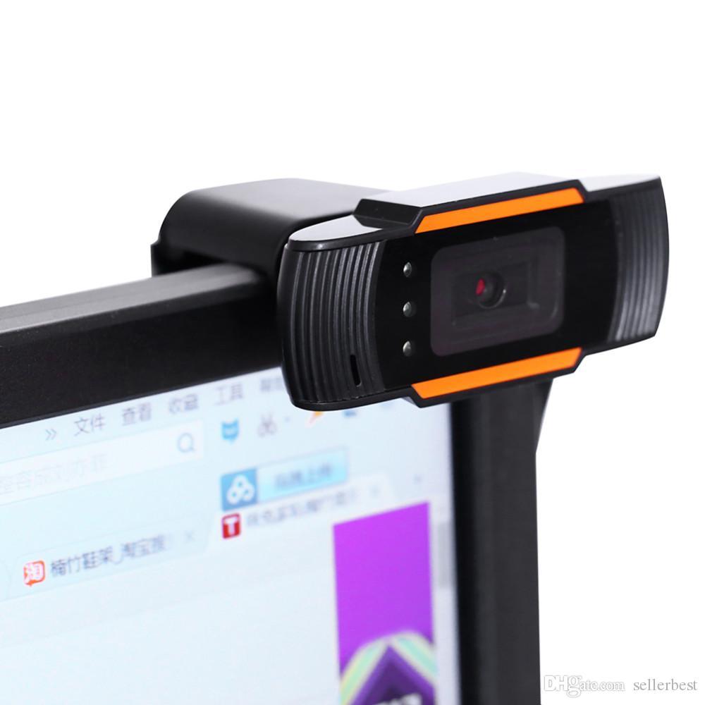 Nouvelle caméra Web USB 2.0 enregistrement vidéo sur PC webcam HD avec MIC pour ordinateur PC portable