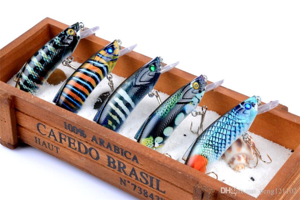 Wholesale Promotional Fishing Lures,Minnow Crank 8cm 14.5g.Artificial Japan Hard Bait Wobbler Swimbait Hot Model Crank Bait