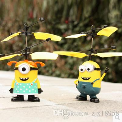 New Light Boats Small Yellow People Xian Aircraft Remote Control ...