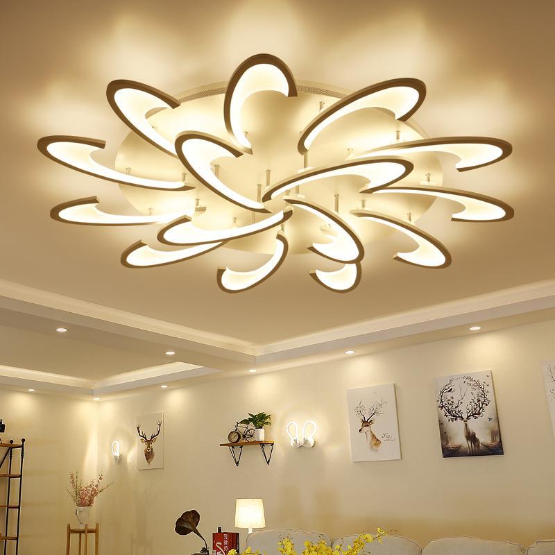 Acheter lican modern led plafonniers pour salon luminaire plafonnier lampara de techo moderne - Luminaire pour salon ...
