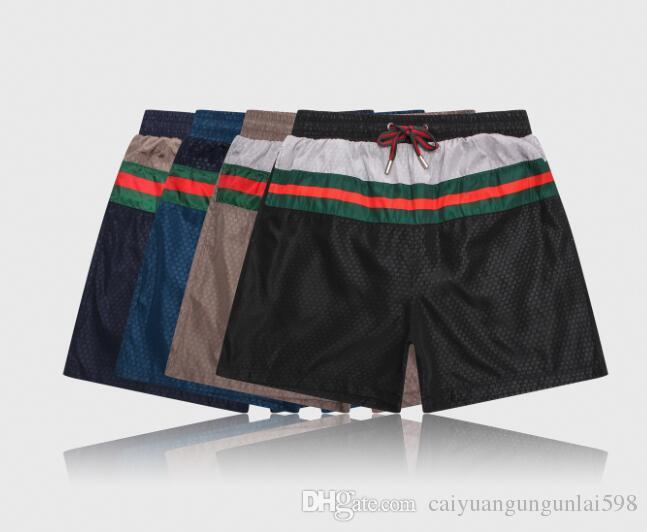 d9745edb54 Hot Tiger Print BoardShorts Mens Summer G Beach Shorts Pants High Quality  Swimwear Bermuda Male Letter Surf Life Men Swim Tiger Shorts 8232 Shirt  Designer ...