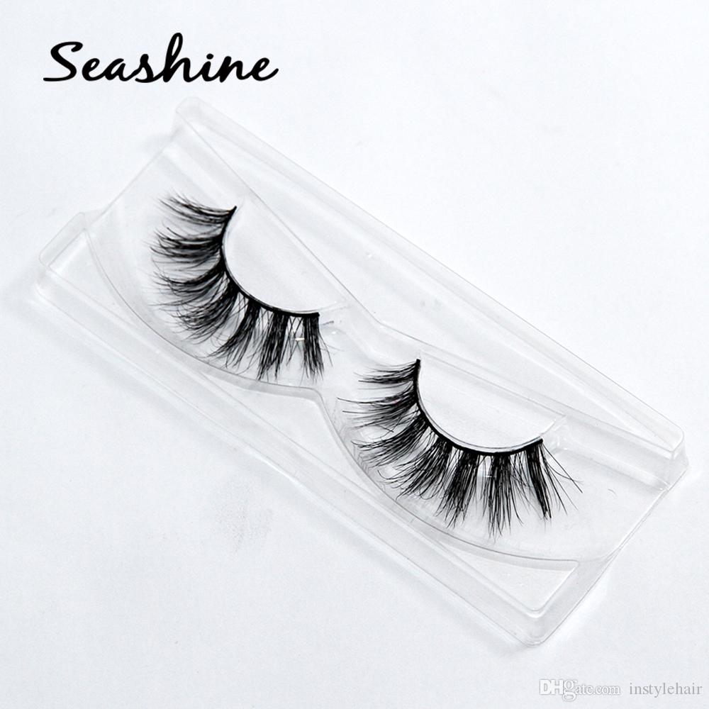 3b47ccaf556 100% Handmade 3D Mink Full Strip False Eyelash Long Individual ...