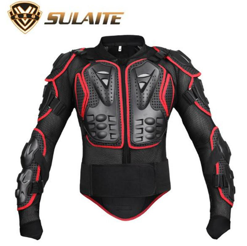 Back Support Motorcycle Riding Armor Jacket chest protect Motocross Off Road Enduro ATV Racing Body Protective Gear Protector Set