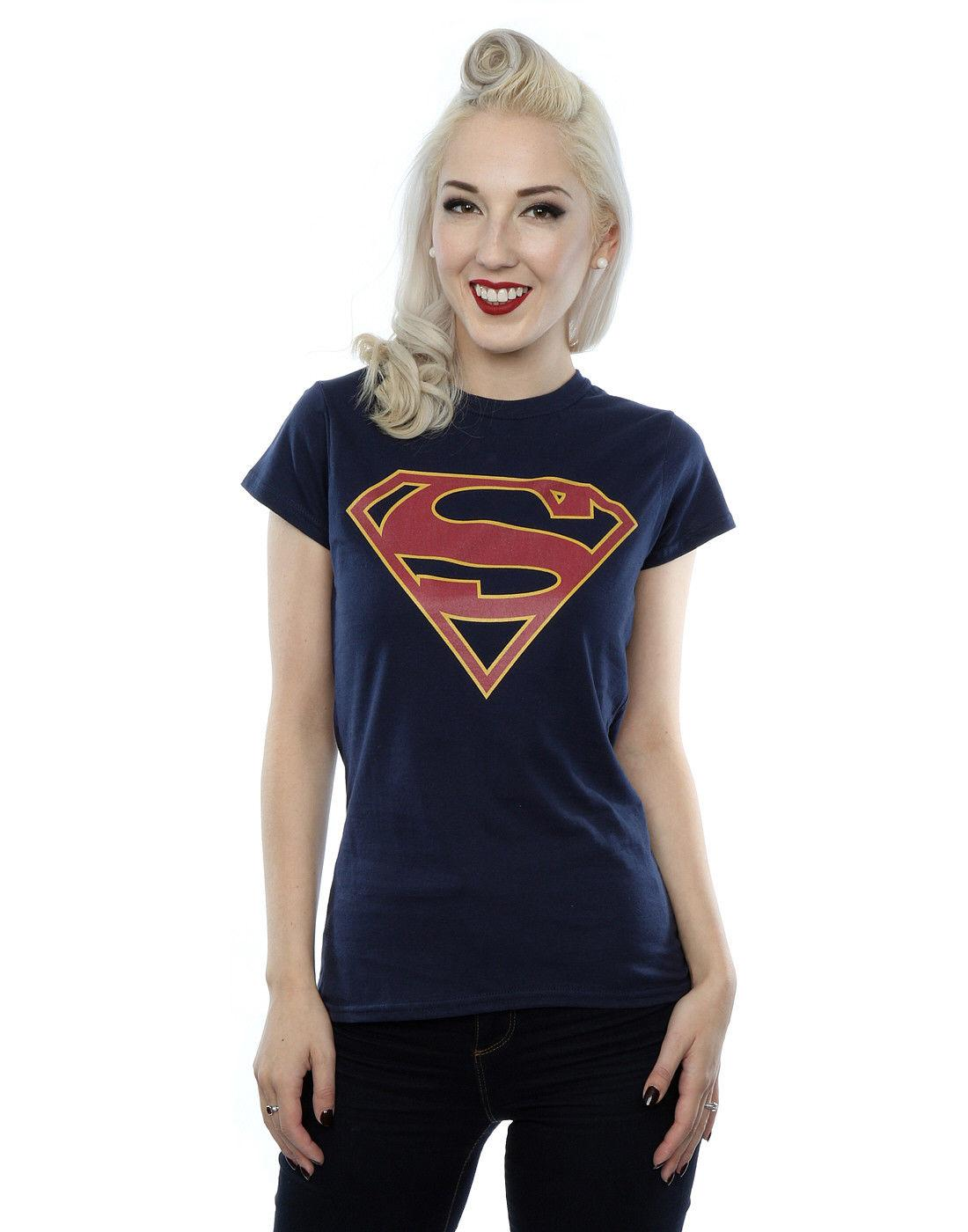 a9f2e2dc DC Comics Women'S Supergirl Logo T Shirt Best T Shirts Sites Quirky ...