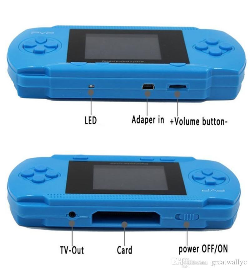 Game Player PVP 3000 8 Bit 2,5-Zoll-LCD-Bildschirm Handheld-Videospielkonsolen Mini Portable Game Box auch Verkauf PXP3
