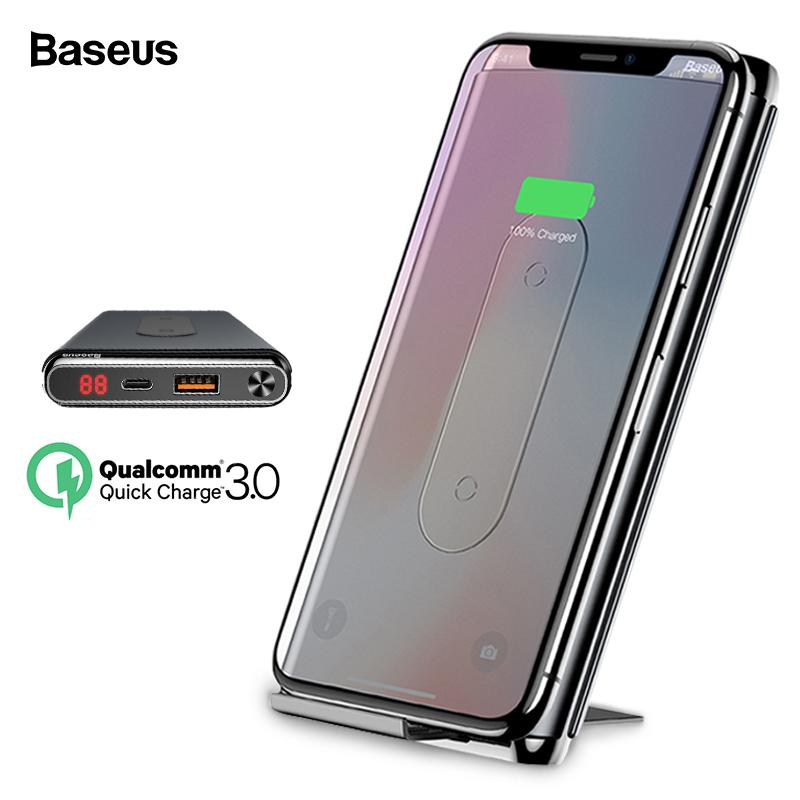 1eb25a151a18b0 10000mah Quick Charge 3.0 Power Bank Qi Wireless Charger For IPhone Xiaomi  Mi PD Fast External Battery Charger Powerbank Powerbanks Power Bank 2600mah  From ...