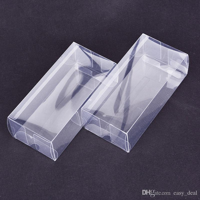 Большие Прямоугольные Пластиковые Прозрачные Коробки Прозрачные Пластиковые Упаковочные Коробки ПВХ Образец / Подарочные / Поделки Коробки Дисплея LZ1846