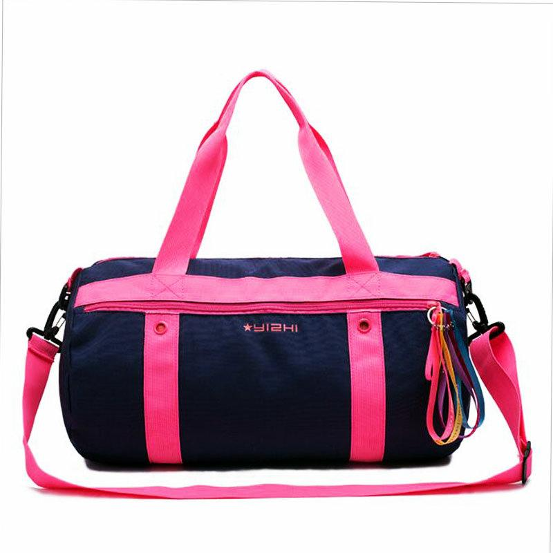 7685fecba7b4 2019 Women Swimming Waterproof Bag Dry Bag Large Capacity Lightweight Swimming  Outdoor Sports Clothing Dry Wet Separation Handbag From Diedou