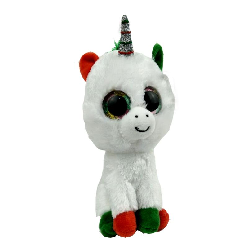 Ty Beanie Boos 6 15cm Candy Cane the Plush Regular Big-eyed Stuffed ... e04249f853ed
