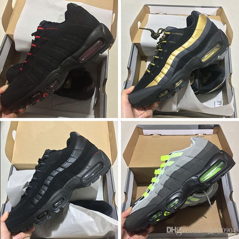 best cheap 1a5ed 0752d Compre 2018 Nuevo Ultra 20 Aniversario Nike Air Max 95 Id Lx Og Retros  Hombres Zapatillas Deportivas Retros 95s Mens Zapatillas Tenis Sneakers  Envío Gratis ...