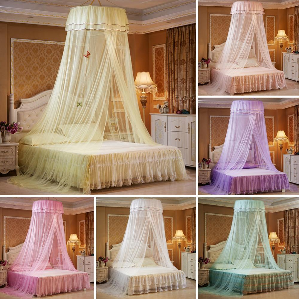 Just Baby Princess Nets Hanging Round Lace Canopy Baby Bed Netting Comfy Infant Crib Netting For Crib Full Queen Bed Baby Sleep S3 Crib Netting