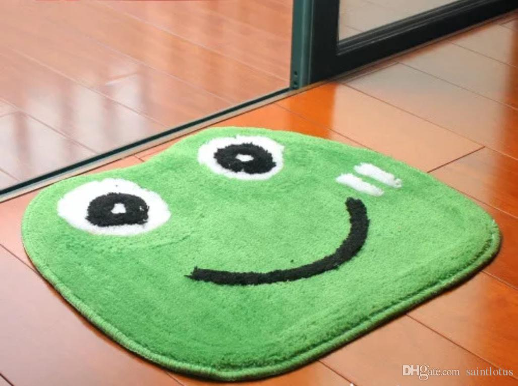 Toilette Da Bagno : Acquista rana verde a forma di animale tappetino da bagno bagno