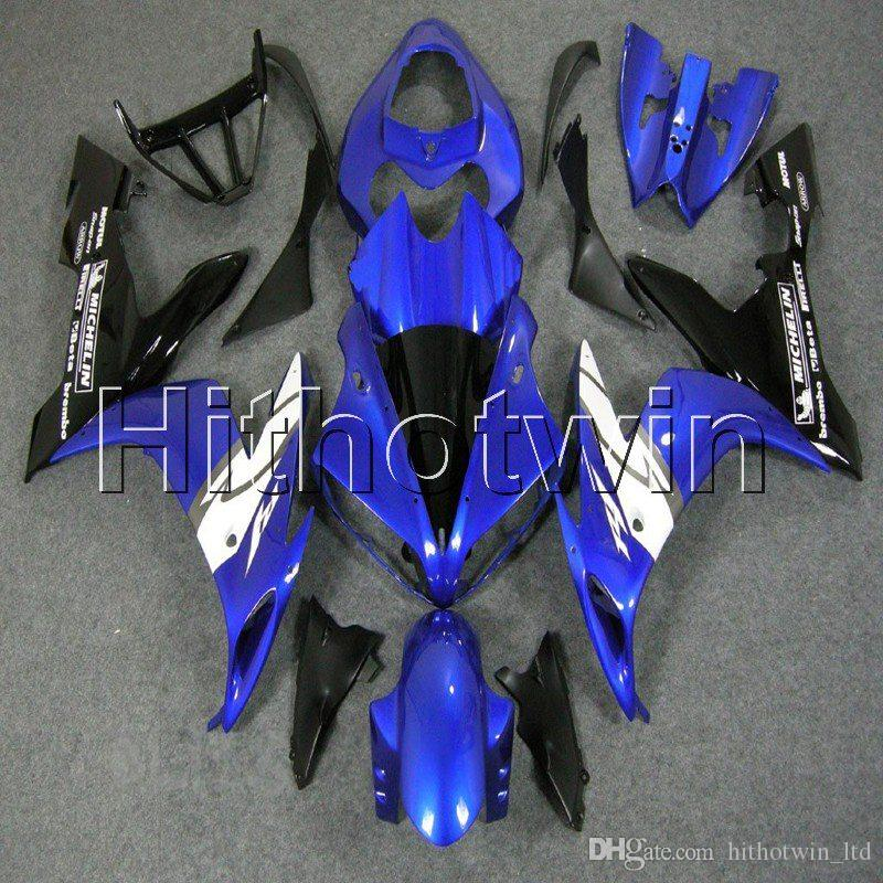 23colors + 8Gifts ABS blu carenatura kit in plastica della carrozzeria per Yamaha YZFR1 04 05 06 YZFR1 2004 2005 2006