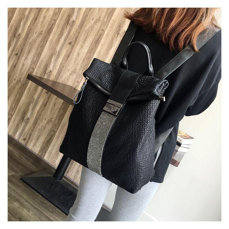 2018 new arrived soft PU Leather / Tab Closure bag /womens bucket bag 2018 new arrived PU Leather / SOFT leather Backpack