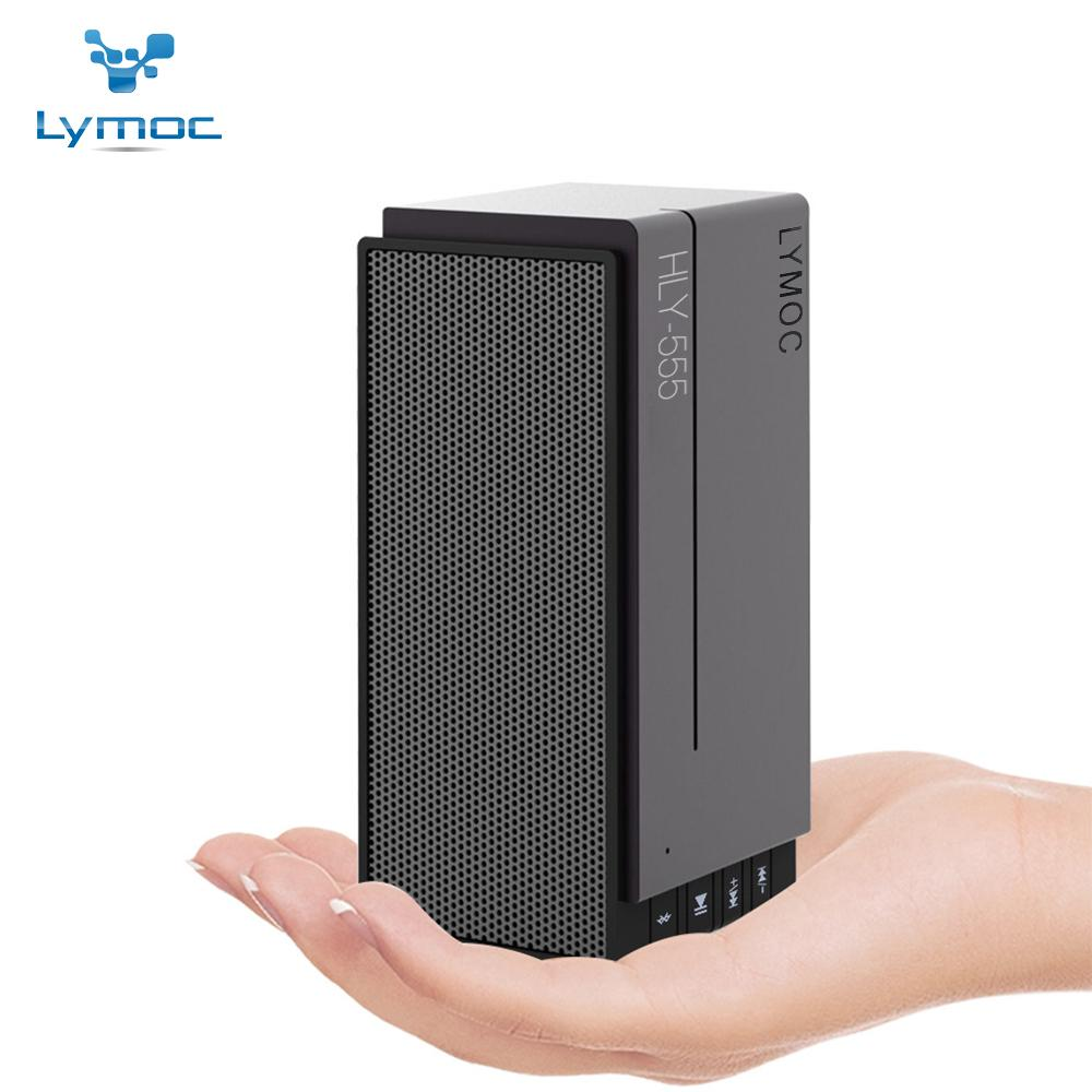 2018 LYMOC New Phone Bluetooth Speakers Wireless Subwoofer Indoor TF Card U  Disk MP3 Player Speaker Hi Fi AUX For All Phone PC Table From Lucion, ...