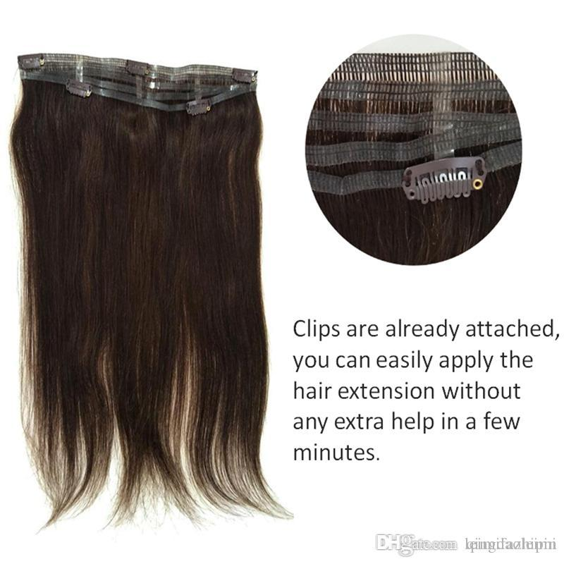 Resika 8a Spanish Hair Short Clip In 14inch 50gpc 5clips Attached