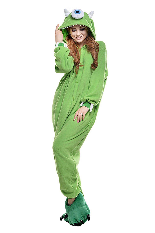 Unisex Yetişkin Hayvan Uyku Suit Cosplay Kigurumi Kostüm Pijama
