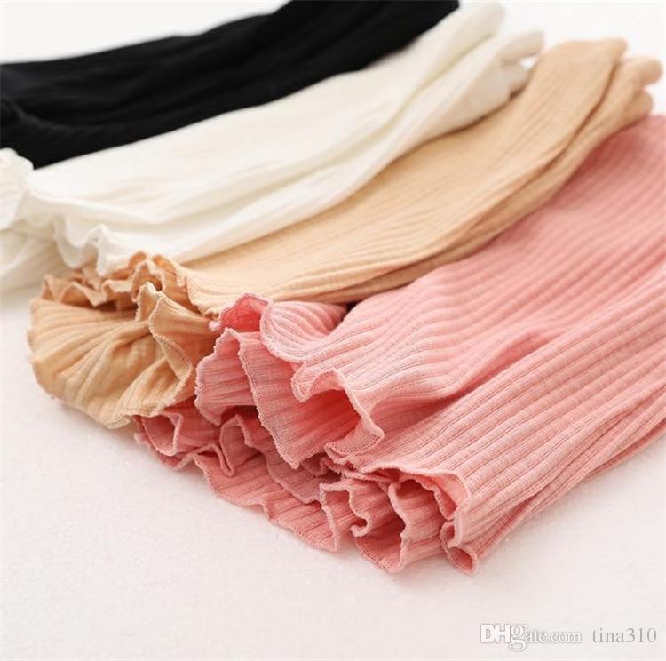 girls cotton short leggings summer fashion short leggings ear side safety for girls short tights home clothing I264