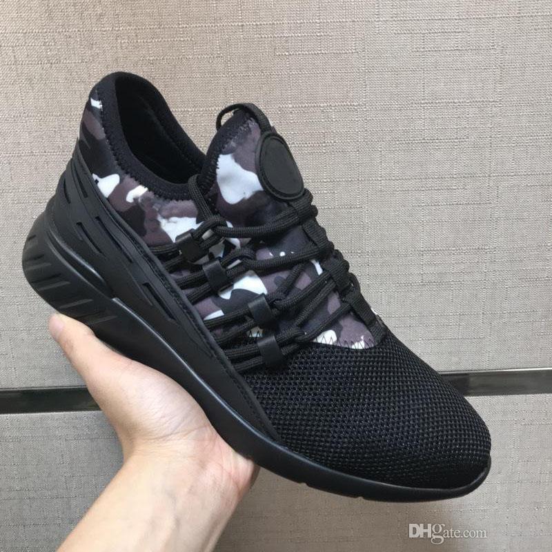 05dd49ccaa2 Sapatos masculino de marca de grife autnticos luxo de camura