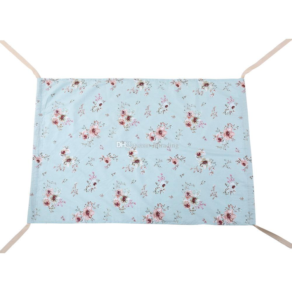 Baby Floral Unicorn Printed Hammock Newborn Portable Removable for Boys Girls Bed Infant Summer 100*70CM Cradles Bassinets C4070
