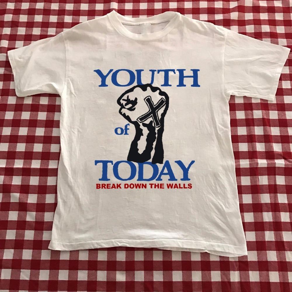 45f56a49d Fun Tee Shirts Youth Of Today Break Down The Walls O Neck Men Short Comfort  Soft Shirt Crazy T Shirt Design Comedy T Shirt From Dhgatec0m10, $11.0|  DHgate.