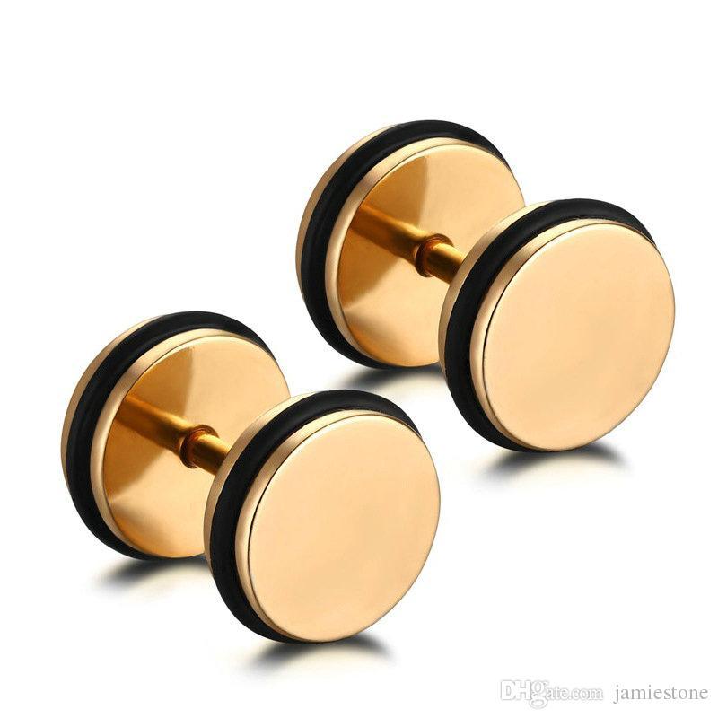 Хрустальные бусины для изготовления ювелирных изделий 18K мексиканские золотые серьги-обручи ES-089