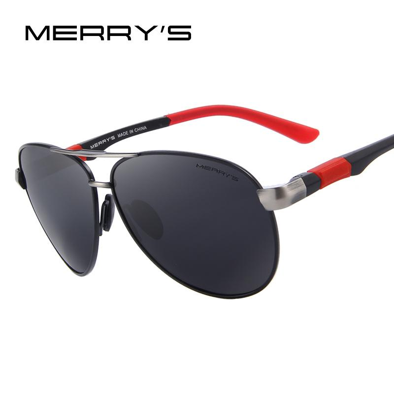 17bd2c29ae MERRY S Men Brand Sunglasses HD Polarized Glasses Men Brand Polarized  Sunglasses High Quality With Original Case D18100901 Online with   18.87 Piece on ...