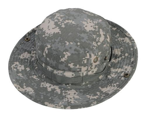 0fbf3cc4d38 Outdoor Sports Military Fishing Bucket Cap Camping Hiking Wide Brim  Camouflage Sun Hat Airsoft Hunting Fishing Cap Outdoor Sports Headwears  Outdoor Accs ...