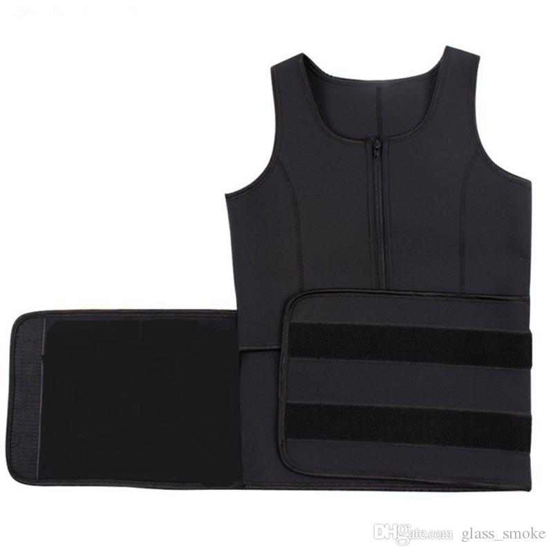 허리 Cincher 땀 조끼 트레이너 Tummy Girdle 컨트롤 코르셋 바디 셰이퍼 여성용 플러스 사이즈 S M L XL XXL 3XL