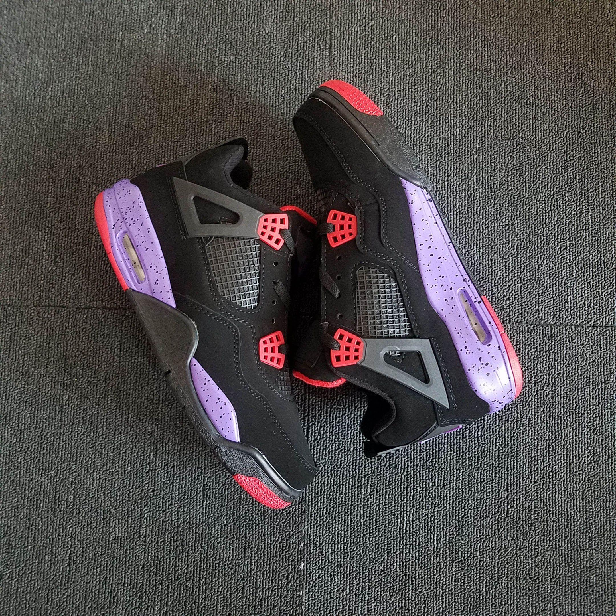 Retro Raptors Basketball Shoes Men Womens 4 Raptors Sneakers Size 36-47  Come With Box Retro Shoes Retro Basketball Shoes Gatorade Online with   137.15 Pair ... 38a91137be