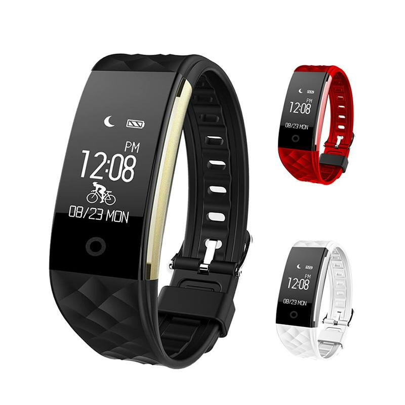 3feccdcc1 S2 Smart Wristband Heart Rate Monitor IP67 Sport Fitness Bracelet Tracker  Bluetooth For Android IOS PK Miband 2 Best Fitness Tracker Band Best Fitness  ...