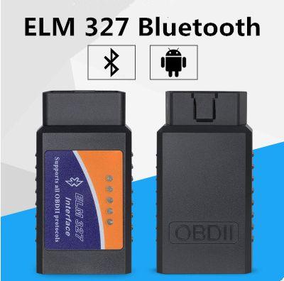 10 UNIDS ELM 327 Bluetooth ELM327 BT OBD2 ELM 327 CAN-BUS puede trabajar en el cable de diagnóstico del coche móvil y PC