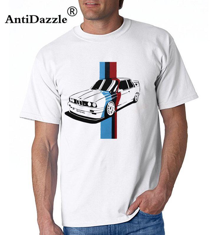 Antidazzle M3 E90 Men\'s Fashion Race Car Design T Shirt Tops Short ...