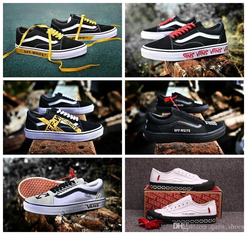 2018 Old Skool Running Shoes Off Zapatillas De Deporte Designer ... ab7b91a5f