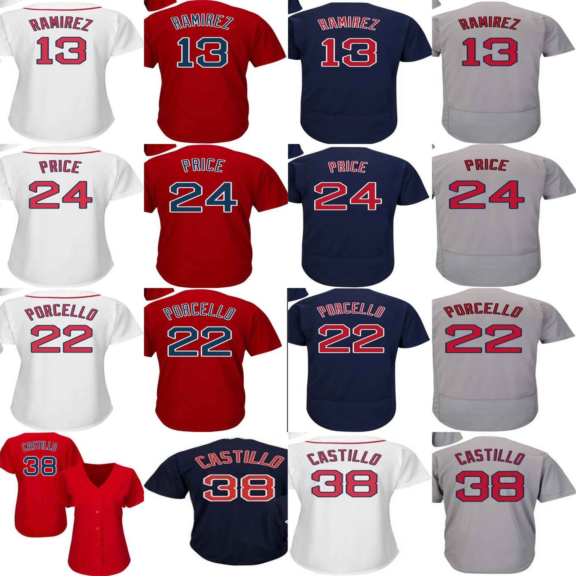 2019 Mens Ladies Kids Boston 2018 WS Patch Rusney Castillo Hanley Ramirez  Rick Porcello David Price Red White Cool Flex Baseball Jerseys From  Probowl 88621215f