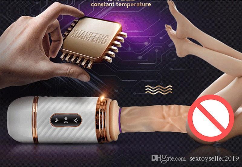 Télécommande Silicone Dildo machine Vibrateur pour les Femmes Automatique Sex Machine pour Femme Masturbation Libre Main Sex Toys pour Femme