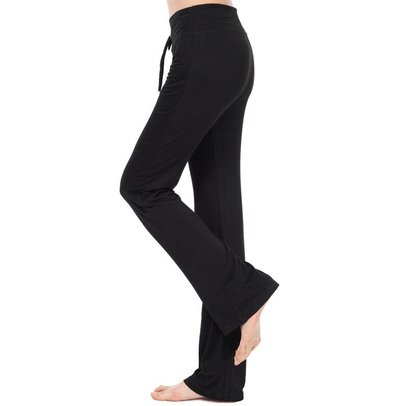 eb8b113104e 2019 RealLion Plus Size Wide Leg Fitness Sport Pants Women High Waist Yoga  Pants Elastic Waist Sport Trousers Gym Clothing 4XL From Jingtianwat