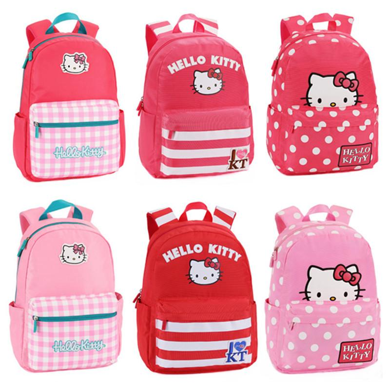 08c8600fe33d Hello Kitty Backpack Kids Ergonomic Elementary School Backpacks Schoolbag  Rucksacks Children School Bags For Girls Grade 1 3 4 Gregory Backpack Back  To ...