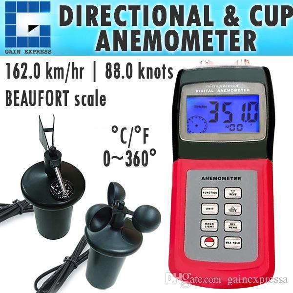 32c004fb2 Compre Anemómetro Digital Multifuncional AM 4836C Con Sensor De 3 Tazas