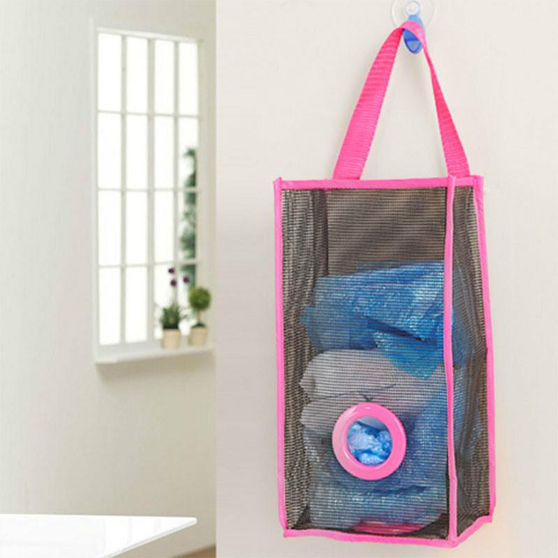 Kitchen Hanging Mesh Grid Garbage Bags Storage Bag Packing Pouch Shopping Bags Overnight Bags Purse Organizer Insert From E437575 $2.9| Dhgate.Com & Kitchen Hanging Mesh Grid Garbage Bags Storage Bag Packing Pouch ...