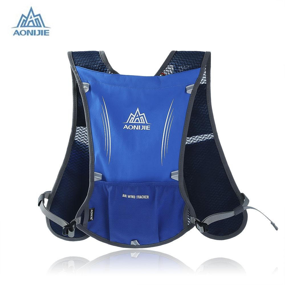 061f2b37d1 2019 Wholesale Aonijie Running Backpack 5L Trail Running Bag Vest Water  Bottle Cycling Hydration Backpack Sport Bag For 1.5L Water Bags From  Alexandr, ...