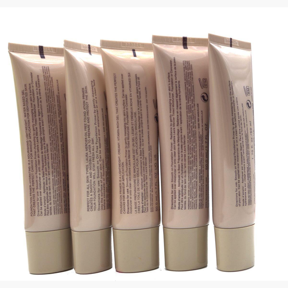 2018 Laura Mercier Foundation Primer / увлажняющая/ минеральная / Безмасляная основа 50 мл 4styles высокое качество макияжа для лица 6 стилей SPF 30 Base 50 мл Face