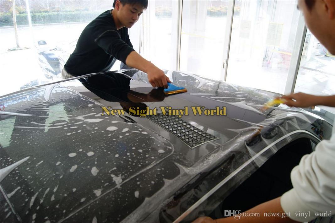 3 레이어 광택 PPF 지우기 자동차 페인트 자동차 포장에 대 한 보호 비닐 필름 포장 크기 : 1.52 * 15m / 롤