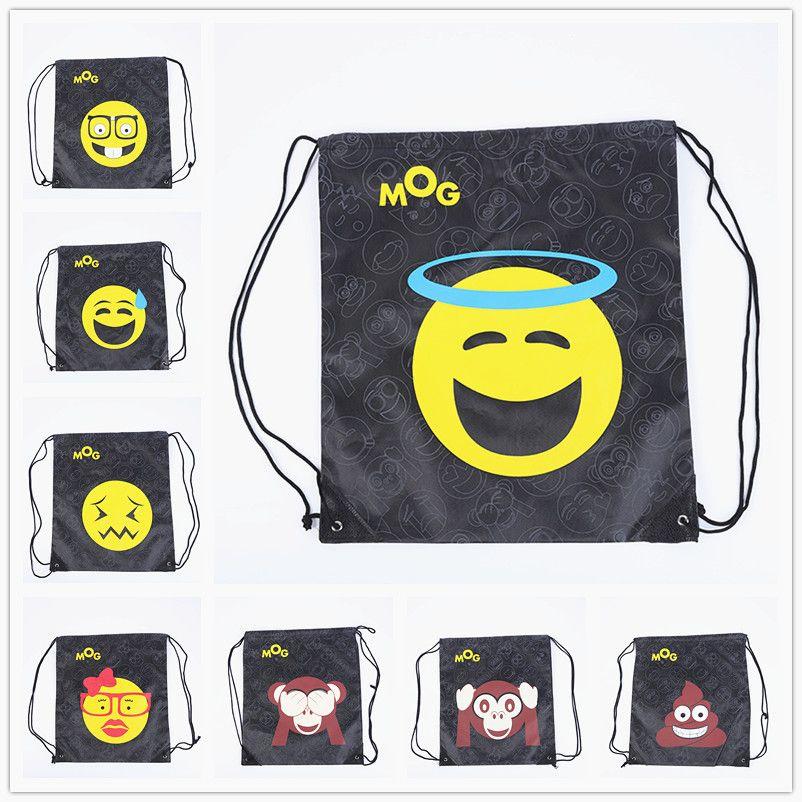 c202d1dd9e35 DHL Delivery New Fashion Emoji Oxford Drawstring Backpacks Waterproof  Storage Bags Unisex Travel Beach Rucksack Bag 12 Style Emoji Oxford Bags  Emoji Bags ...