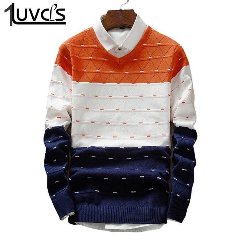 Compre LUVCLS 2019 Nuevos Hombres De La Marca Suéteres De Moda Para ...