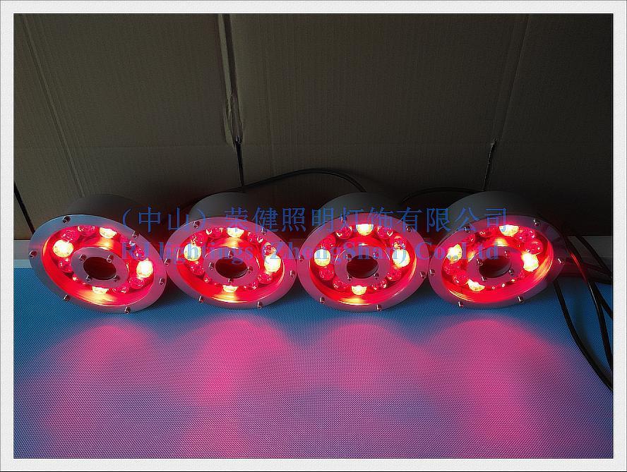 LED underwater light swimming pool light fountain light 2019 new style under water lamp 6W 9W 12W 18W IP68 AC12V input
