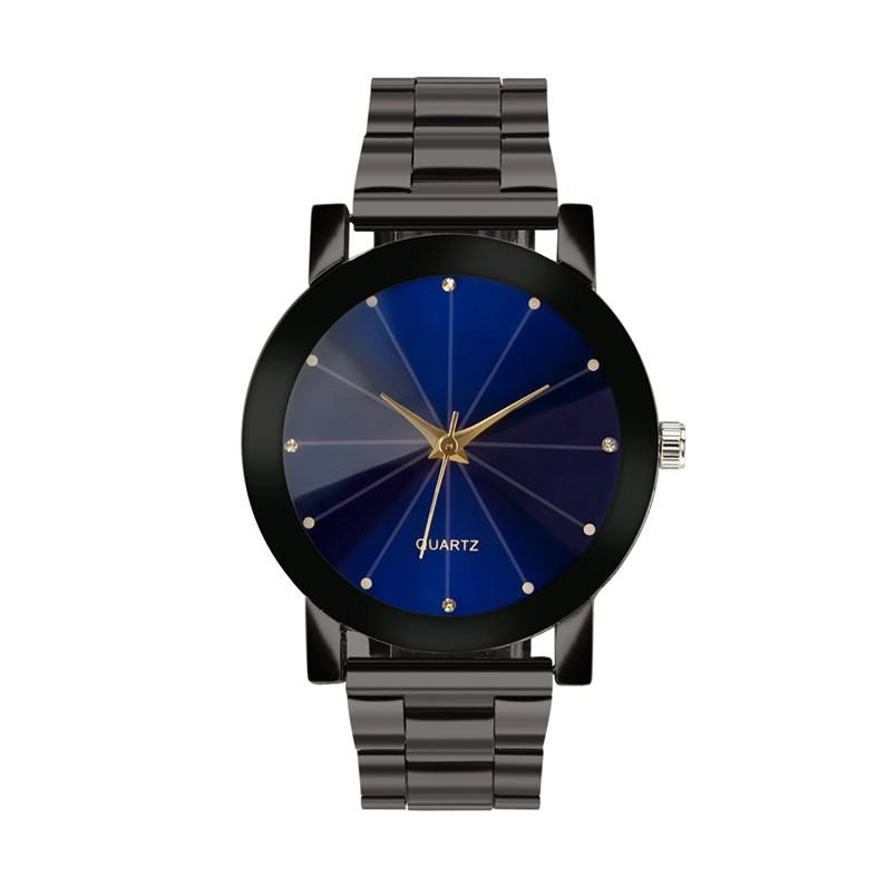16ce36fdf76 OTOKY Quartz Watches Crystal Stainless Steel Watch For Men ...