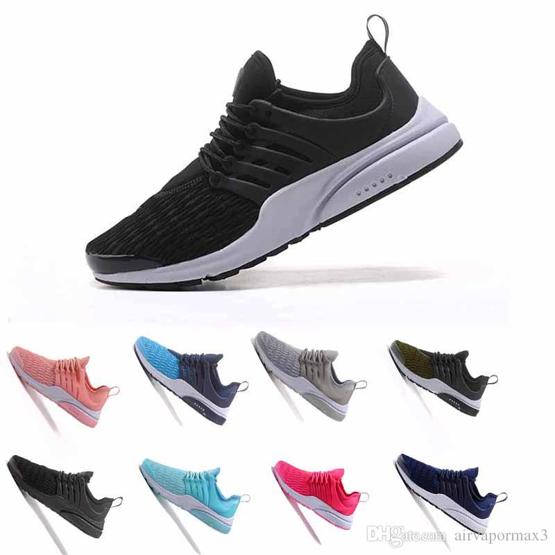 755f102f122 Hot Sale Huarache 2018 Fashion Leisure Walking Presto Ultra Br Qs Yellow  Pink Black Oreo Outdoors Sport Casual Shoes White Mountain Shoes Sneakers  From ...