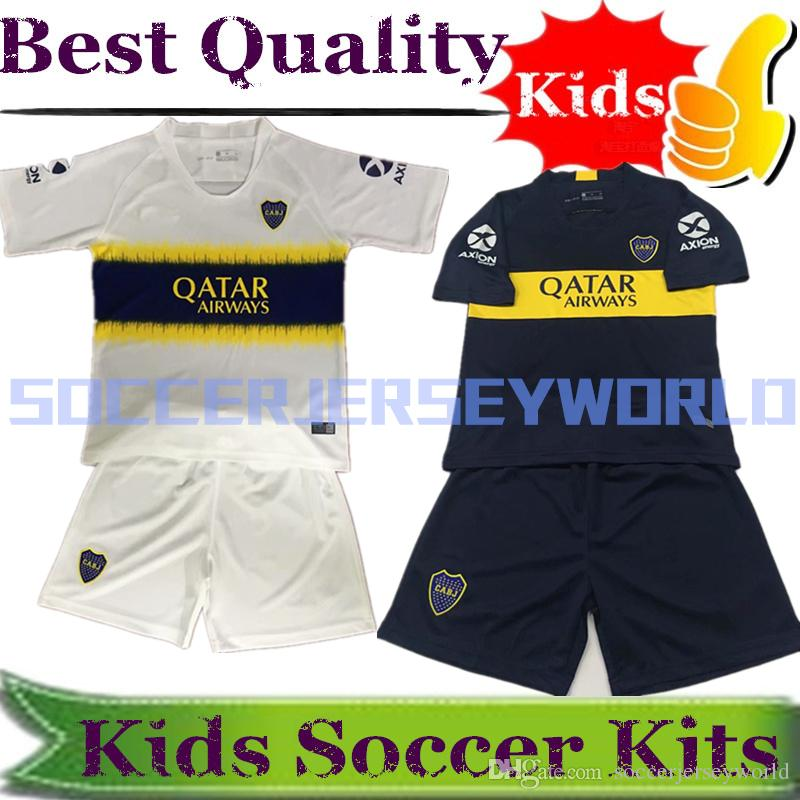 CAMISETA ALTERNATIVA DE JUEGO 2018 2019 BOCA JUNIORS CONJUNTO INFANTIL 2018  KIDS KITS FOR TEVEZ GAGO PAVON PEREZ BENEDETTO PERUZZI ZARATE UK 2019 From  ... 3ca73ba216d04